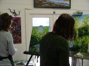 Killarney National Park . Spring Oil Painting Workshop