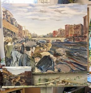 Jack B Yeats The Liffey Swim!