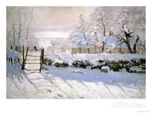Claude Monet, The Magpie,1869