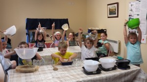Summer Camp 2014 Ready for  Baking