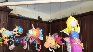 Summer Camp 2014. The Puppets hanging up!