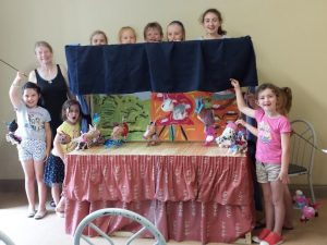 The Puppet Show! Summer Camp 2014