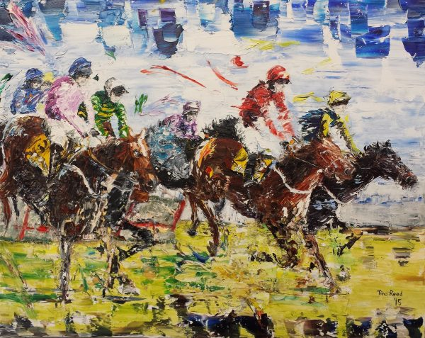 The Cheltenham Hurdle 40x50cm €430