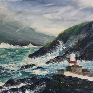 Stormy Seas, Valentia Lighthouse