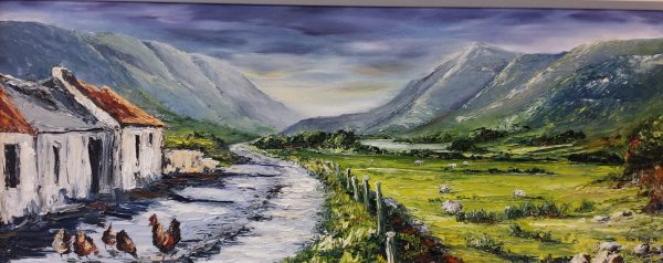 "Sunrise, The Gap of Dunloe 27x11"" €390"