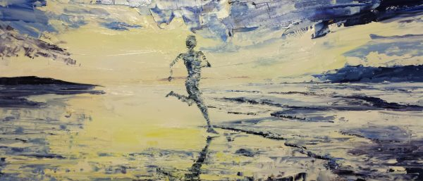 The Light Beach Runner 70x28cm
