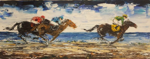 On The Sands At Glenbeigh 20x50cm €220