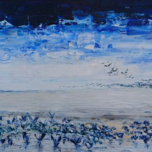 Birds on the Sands 70x28cm €340