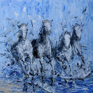 The Camargue Approach 51x51cm