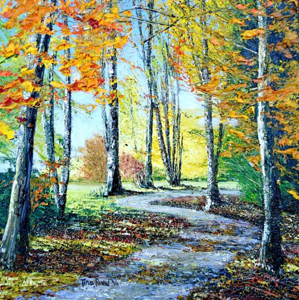 Autumn in the Demesne 23x23cm