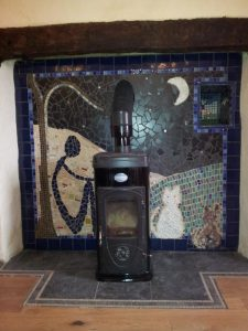 The Old Kitchen Fireplace