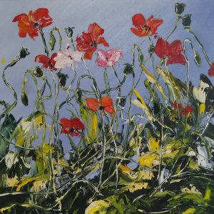 Flower Fairy Poppies 23x23cm