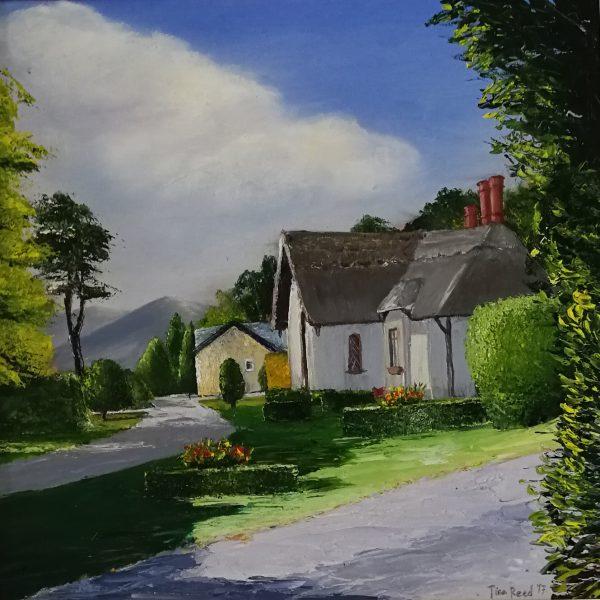 Deenagh Lodge, Killarney 40x40cm