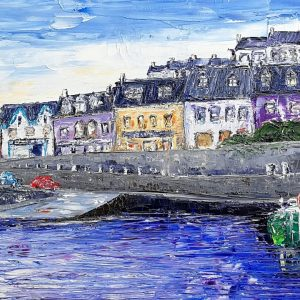 Baltimore Harbour, West Cork 28x70cm