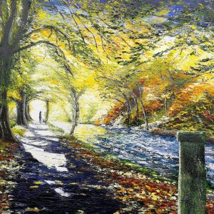 I See It! Along The River Walk, Killarney 62x77cm