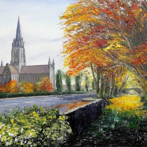 St Mary's Cathedral Killarney 62x77cm