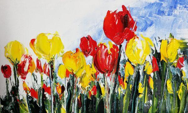 Tulips 16x26cm