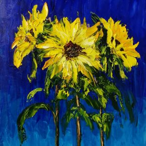 Sunflowers 25x30cm