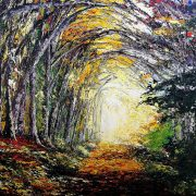 Autumn Along The Kerry Way At Glenbeigh 62x77cm