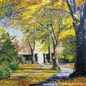 Autumn in the Demesne, Killarney 62x77cm