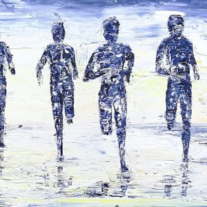 The Beach Runners 30x100cm