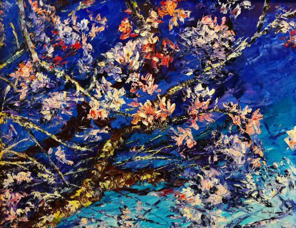 Almond Blossom (1)40x50cm