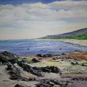 Castlegregory Beach 40x50cm