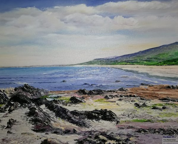 Castlegregory Beach 40x50cm