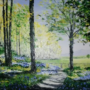 Through the Bluebell Woods, Knockreer Killarney 40x50cm