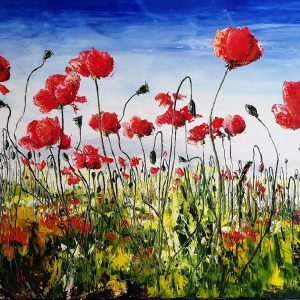 Poppies on the Terraces 1