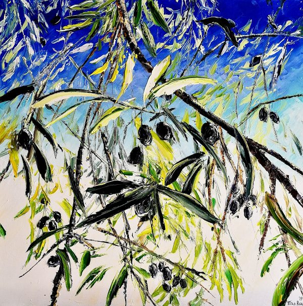 The Olive Branch 40x40cm