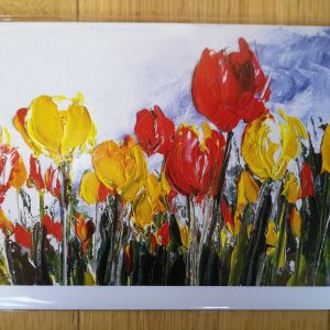 Tulip- greeting card