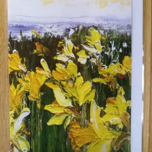 Daffodil- greeting card