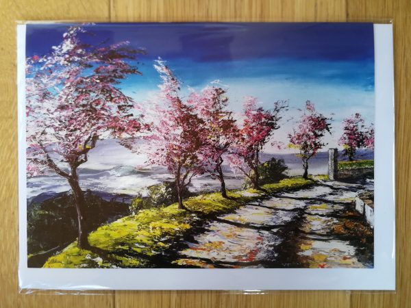 Cherry Blossom- card
