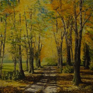The Demesne in Autumn 120x150cm