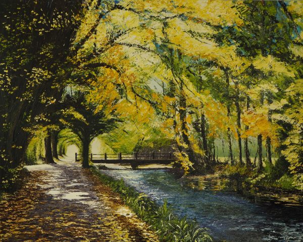 The River Walk Killarney 120x150cm